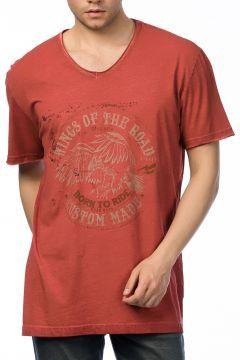 Lee Cooper Erkek Davison V Yaka Baskılı T-Shirt 172 LCM 242033 https://modasto.com/lee-ve-cooper/erkek-ust-giyim-t-shirt/br15035ct88