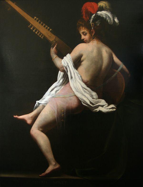 Terpsichore (Muse de la Danse)/ 195 × 150 cm Giovanni Baglione -1620