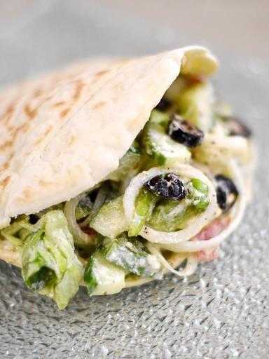 ... Salade Grecque no Pinterest | Salade Facile, Recette Salade e Grecque