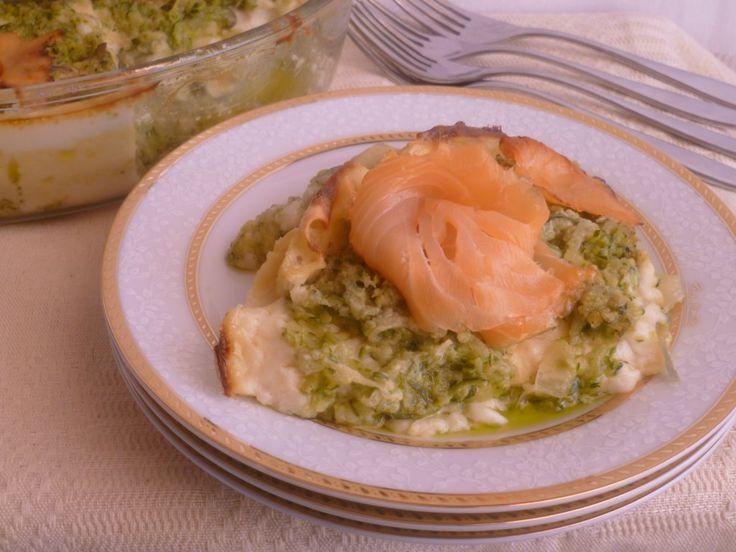 lasagne  zucchine salmone e robiola