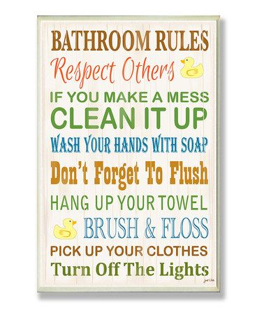 17 best ideas about bathroom rules on pinterest funny for Rules of good bathroom design