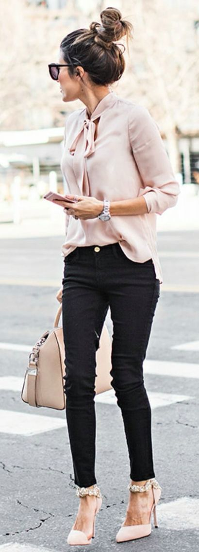 love this for a more dressed up look, with dressier flats instead of heels