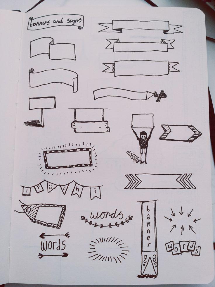 Resultado de imagem para titulos decorados para cuadernos