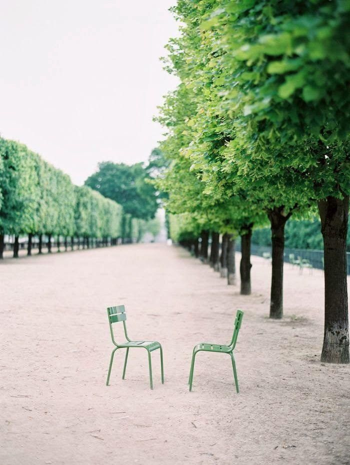 Tuileries in Paris / via The bottom of the ironing basket