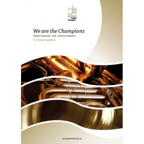 We are the Champions - brass quintet