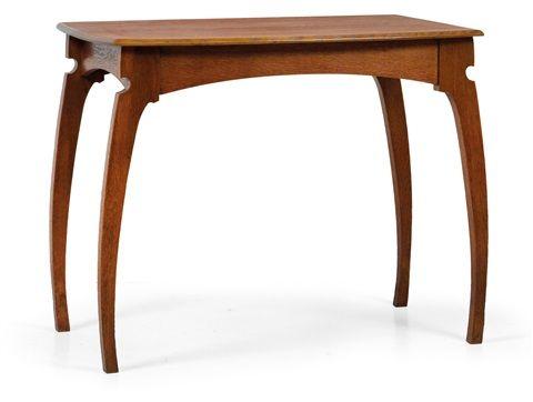 Tisch by Gustave Serrurier-Bovy