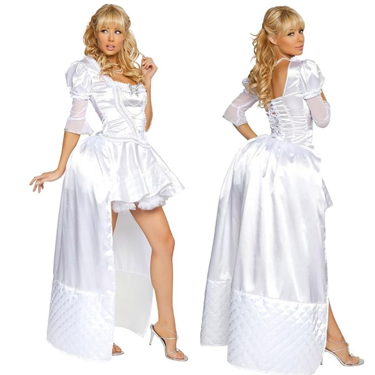 >> Click to Buy << Alice in Wonderland Cosplay Costume The White Queen Costume Deluxe White Dress Wonderful Halloween Costumes For Women Clearance #Affiliate