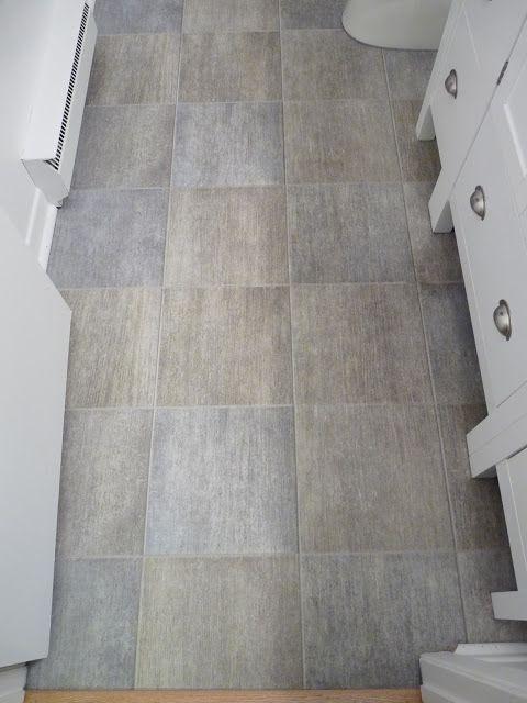 Popular Dans le Townhouse grey tile like vinyl floor