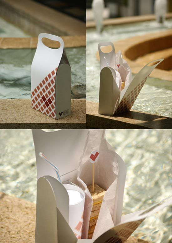 Konsep Desain Kemasan - Love Bites Cafe Packaging by Tebius