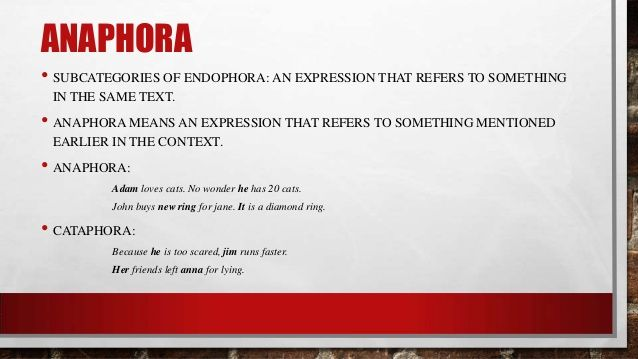 examples of anaphora with images to share - Google Search ...