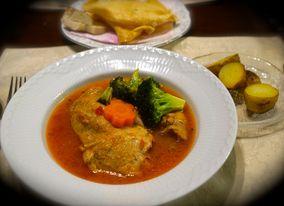 アフリカ料理「チキン・ムアンバ」 レシピブログ