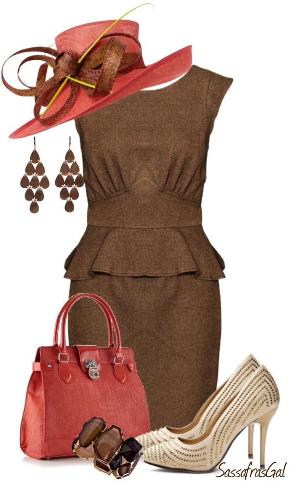 """Kentucky Derby"" by sassafrasgal on Polyvore"