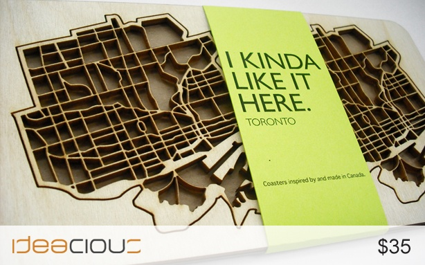 """Toronto Coasters by The National Design Collective 