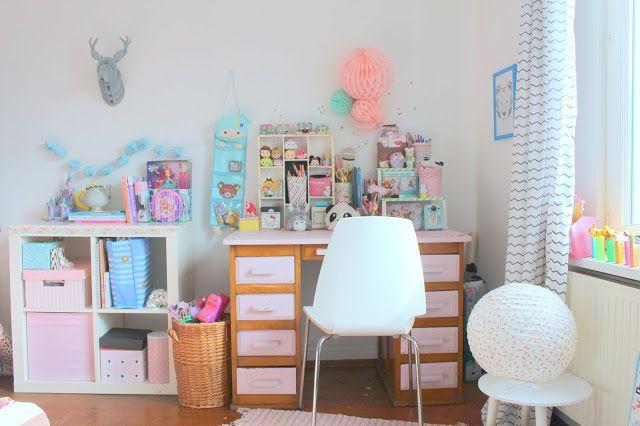 1000 id es sur le th me kawaii bedroom sur pinterest for Bureau kawaii