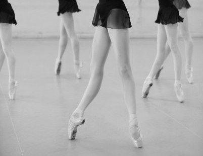 Ballet class...
