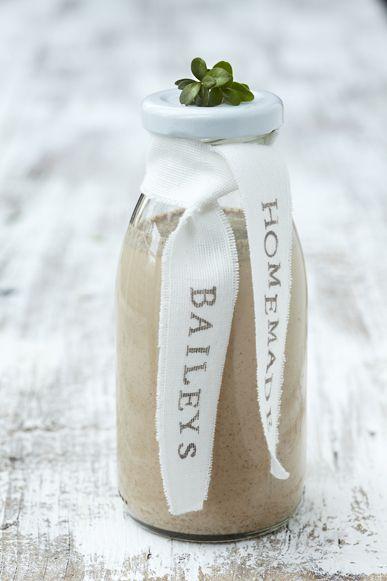 homemade baileys - gifting