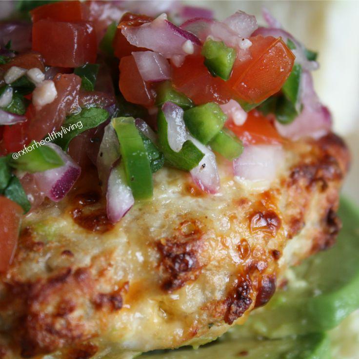 21 day fix recipes, turkey   Taco Turkey Burger - 21 Day Fix Approved Recipe
