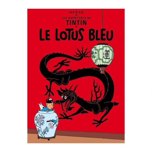 Le Lotus Bleu – Poster