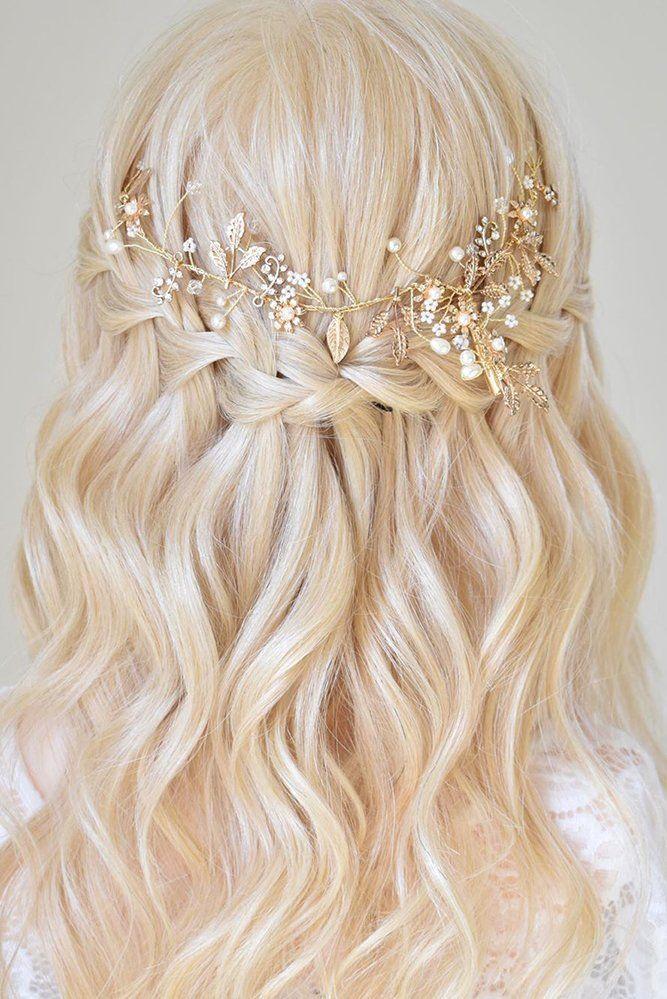39 Best Pinterest Wedding Hairstyles Ideas Wedding Forward In 2020 Bridal Hair Half Up Half Up Curls Formal Hairstyles For Long Hair