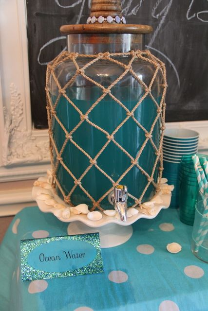 Pirates and Mermaids Birthday Party Ideas   Photo 7 of 45   Catch My Party