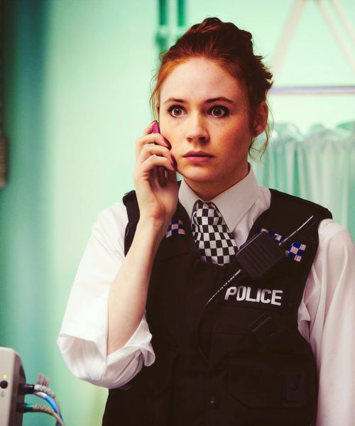 Amy Pond in The Eleventh Hour