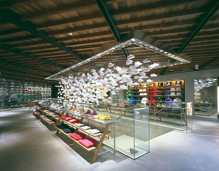 NIKE HARAJUKU by Wonderwall, Tokyo store design