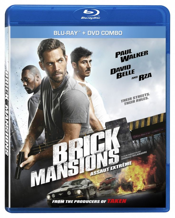 VVS Films & Cinemaniax invites you to an online combo pack giveaway for the release of BRICK MANSIONS on DVD/Blu-ray.