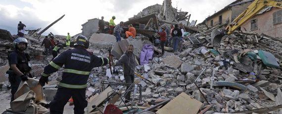 #Terremoto en #Italia en #Perugia Magnitud 6.2 numerosas victimas, desaparecidos y deztross en la Regiión Central- Red 92 - Cada día más