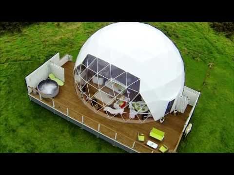 Ремстройсервис | Чудесные экологические купольные дома - YouTube