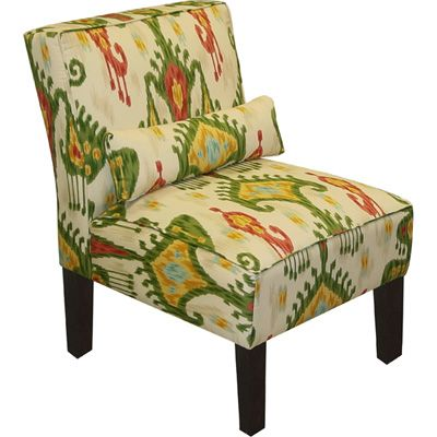 Khandara Jewel Skyline Armless Upholstered Accent Chair. 56 best Restored chairs images on Pinterest   Armchairs