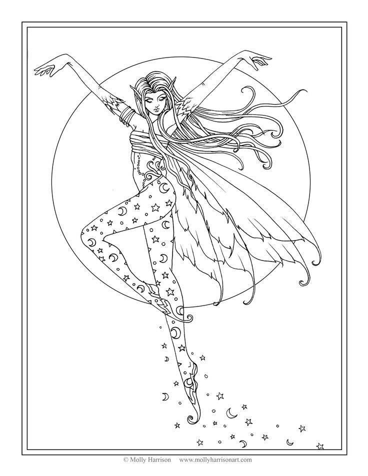 25 best Molly Harrison Free Coloring Pages: Direct From the Artist ...