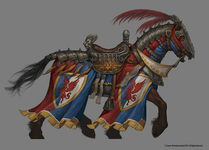 THE ART OF JIM NELSON: Warhammer Online Barding Concepts