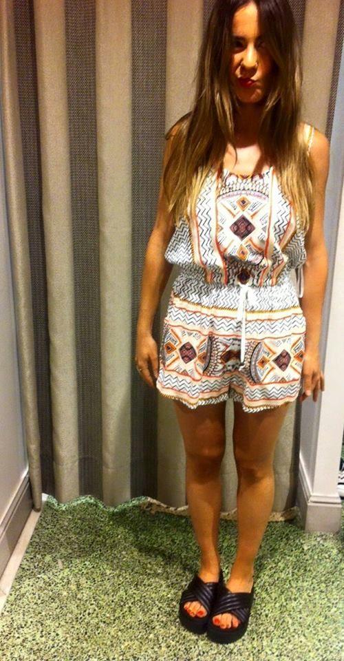 Boho Style   Antonella Boutique #Playsuit #Boho #Minkpink #sandals #jeffreyCampbell #AntonellaBoutique