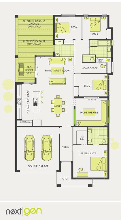 McDonald Jones Homes -Entertainer Collection - Floorplan #Floorplans #luxuryhome