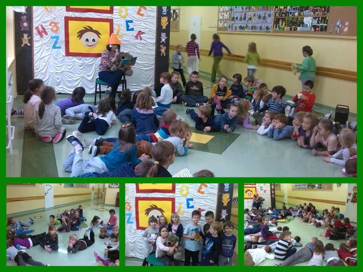 Wczoraj minęła 130 rocznica urodzin autora książek o najpopularniejszym misiu świata. Z tej okazji na całym świecie obchodzony jest Dzień Kubusia Puchatka.  W naszej szkole wczoraj przerwy były niezwykłe, bo CZYTAJĄCE. Uczniowie klas I – III uczestniczyli w takiej przerwie, mieli możliwość wysłuchania fragmentu przygód Kubusia Puchatka.