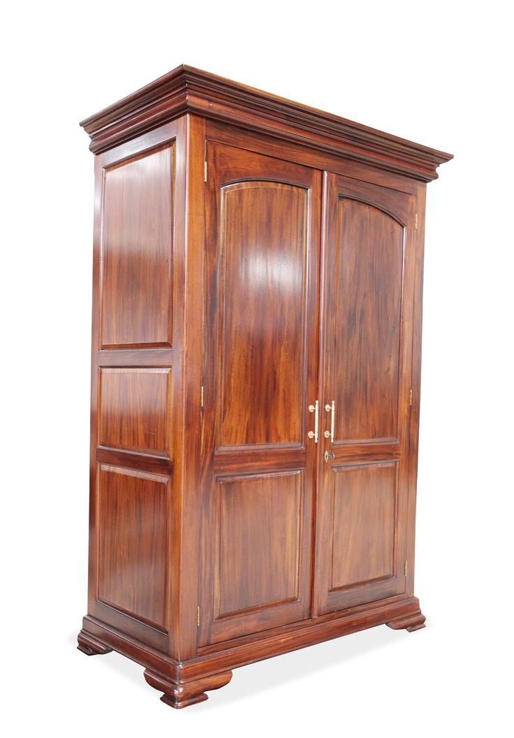 VANESSA WARDROBE: Made of Solid Mahogany wood; DIMENDIONS:L130xW64XH20 cm; PRICE: 129000/-