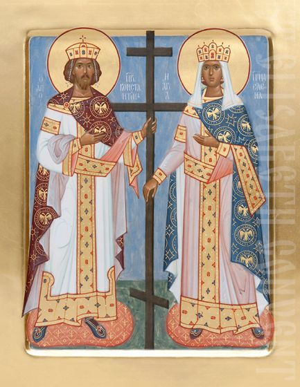 Handpainted icon of st Constantine and Helen to order            #CatalogOfGoodDeeds #icon #iconography #orthodoxicon #orthodoxiconography #buyicon #ordericon #iconographers #holytrinity #Handpainted #Saintconstantin #sainthelen