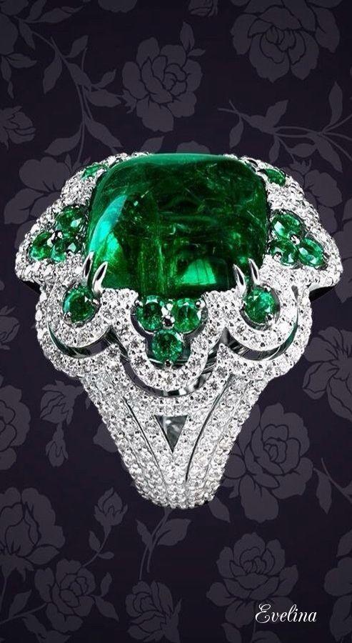 Luxury emerald