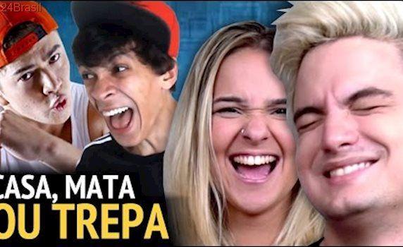 CASA, MATA OU TREPA? - Com Manoela Duarte