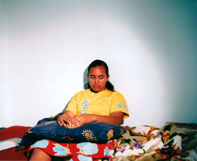 Edith Amituanai, Ioka's Fa'ali'i, 2004, from the series, Ioka, C-type photograph