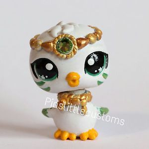 Peridot August Birthstone Baby Bird Littlest Pet Shop LPS custom