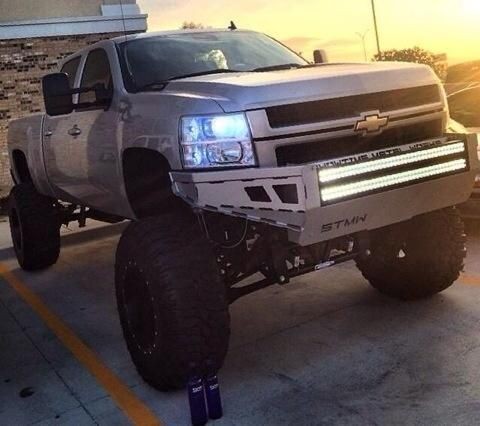trucks jacked up - Google Search
