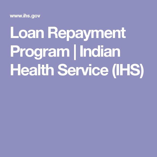 Loan Repayment Program   Indian Health Service (IHS)