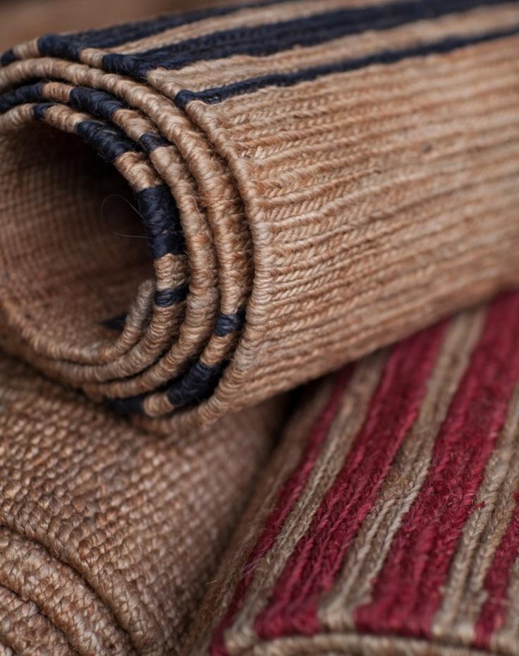 River Weave - Ticking Stripe | Armadillo & Co. Very Hamptons
