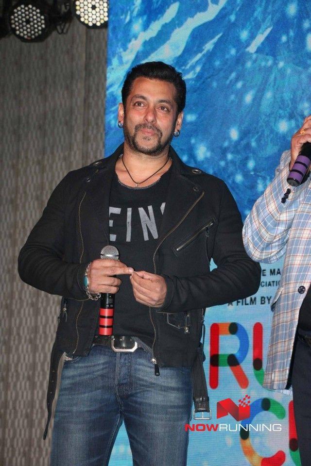 Salman Khan grace Mahesh Manjrekar movie music launch