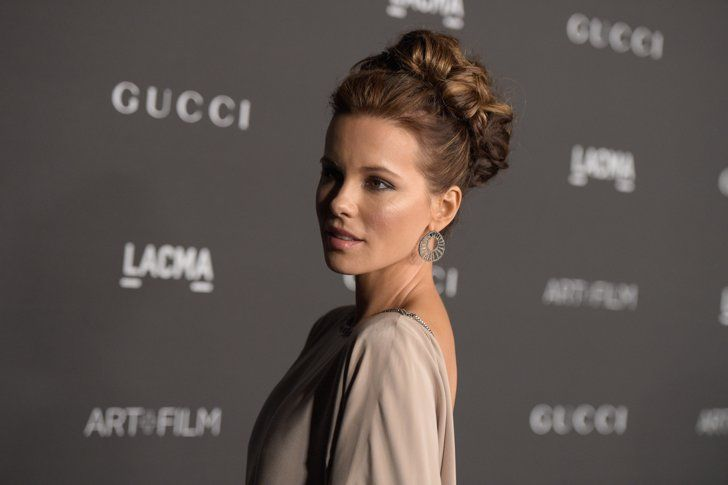 Pin for Later: Steal Karlie Kloss's Trick to Look Like a Model For Date Night Kate Beckinsale Kate's intricate updo at the LACMA Art and Film Gala reminded us of a holiday wreath.