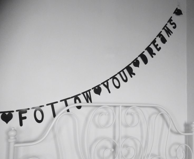 Eigen creatie ~ Follow your dreams ~