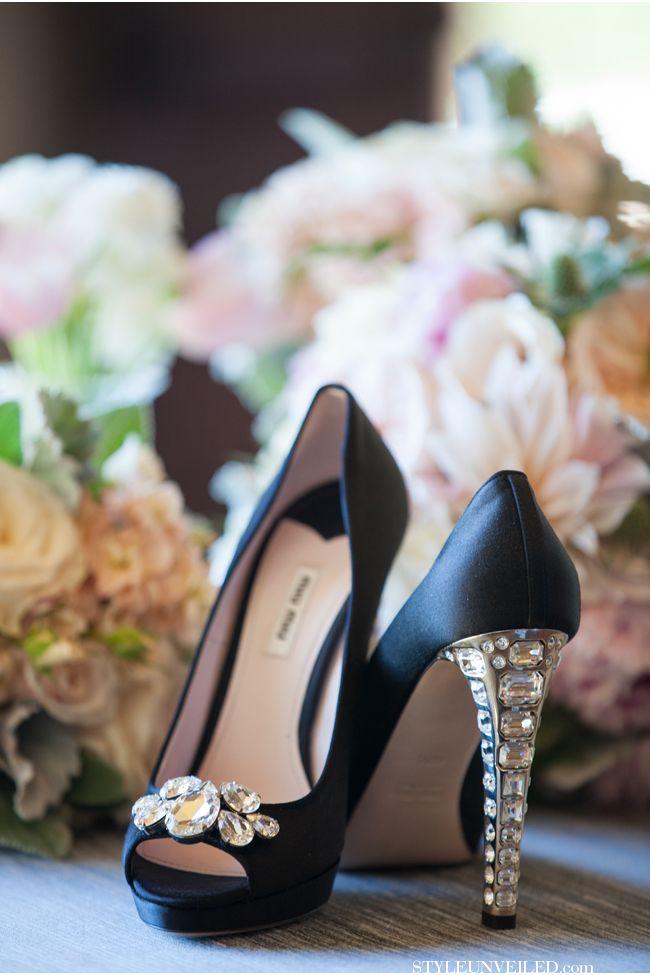 These shoes scream rustic GLAM to me / Melissa Musgrove Photography / Santa Barbara Wedding / via StyleUnveiled.com