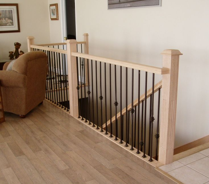 15 Incredible Wood Stairs Railing Design For Your Home