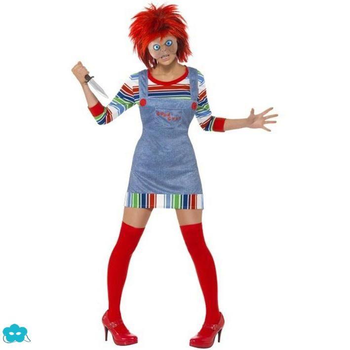 Disfraz de Chucky muñeco diabólico para mujer